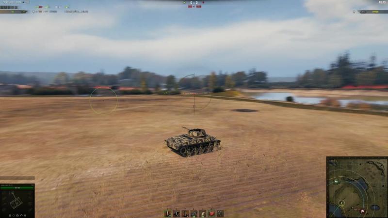 FV4005 - T67 бой второй