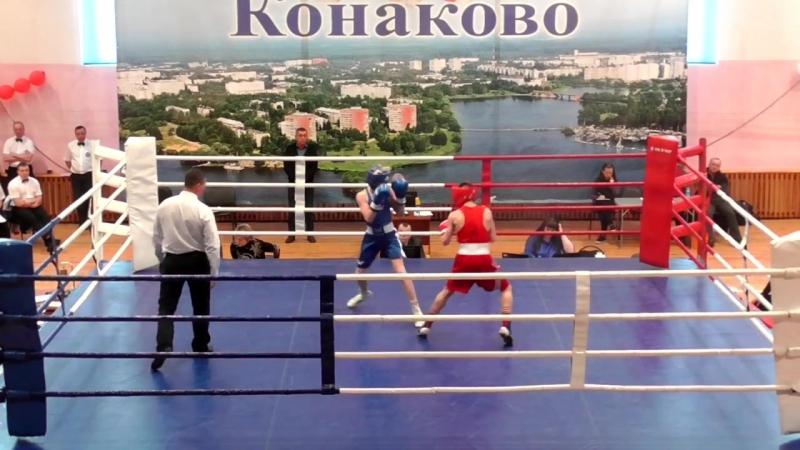 Первенство ЦФО России по боксу (Бобков Павел - Куликов Матвей