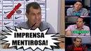 Carille esculacha a imprensa I PVC Edmundo e Zinho respondem Completo