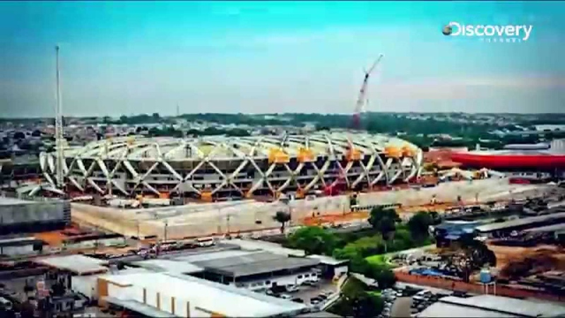 Amazons Manaus Stadium (Timelapse) | Building The World Cup