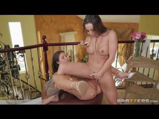 Abigail Mac & Felicity Feline - Bisexual Bride [Big Naturals, Big Tits, Lesbian, Natural Tits, Toys, Trimmed Pussy, 1080p]