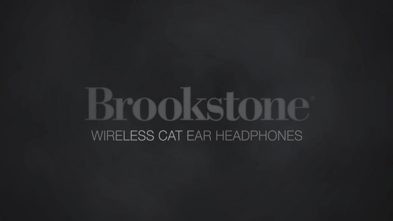 Brookstone Axent Wear Cat Ear Headphones.720