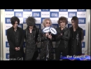 The GazettE Comment/COUNTDOWN JAPAN [WOWOW] DAY-2