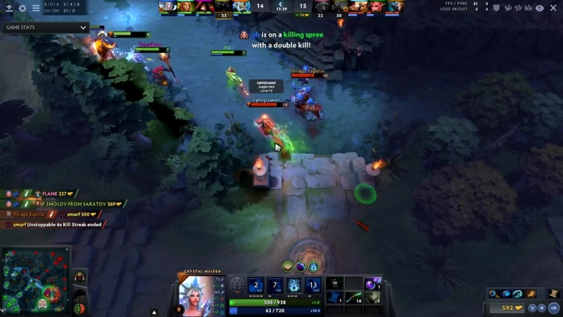 One of The Reason Why We Love GH-GOD Best Support Player in Dota 2