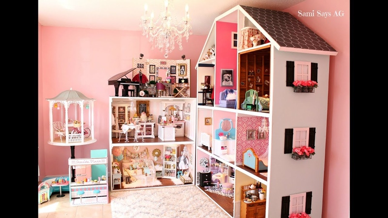 HUGE AMERICAN GIRL DOLL HOUSE TOUR NEW! 2018