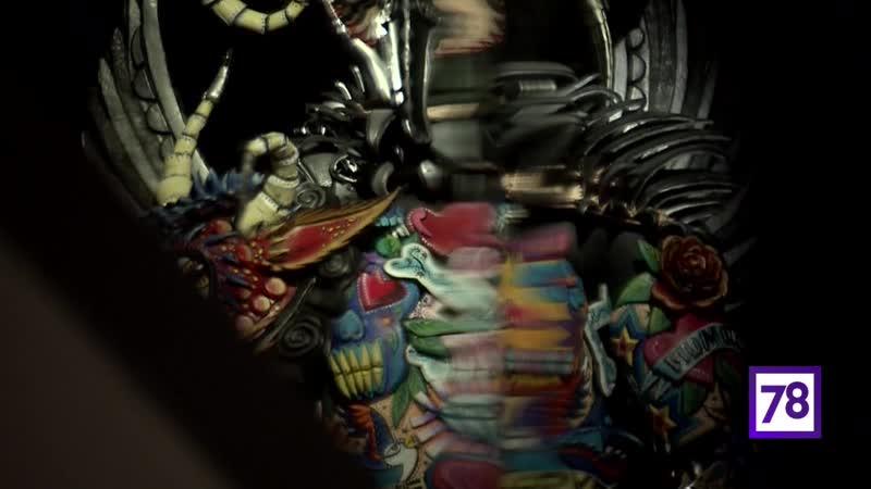 Выставка World of wearable art в музее Эрарта - Неспящие 13.10.18.