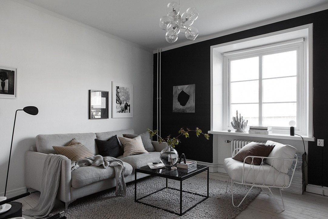 BLACK PAINT FOR EXTRA DIMENSION #Квартира#дизайнквартиры #дизайндома #дизайнстудия #дизайнкухни #дизайнинтерьеров #дизайнеры #дизайннаногтях