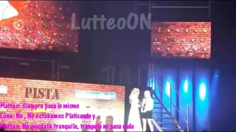 Soy Luna Live Barcelona - Luna y Matteo se ponen nerviosos tras el casi beso _3