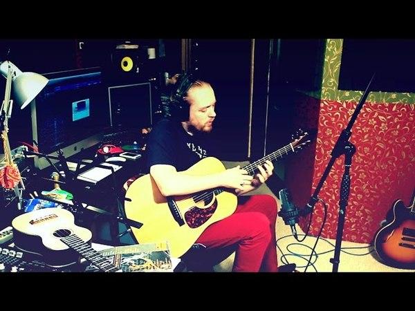 Илья Драгунов - слэп на акустической гитаре