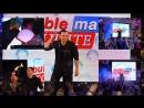 BubbleMan Илья в Малахите шоу мыльных пузырей на показе PHOTOKIDS