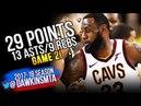 LeBron James Full Highlights 2018 Finals GM2 Warriors vs Cavaliers - 29-13-9! | FreeDawkins