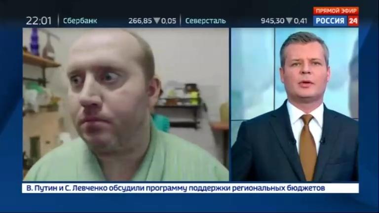 Новости на Россия 24 Вирусный ролик с геем на передержке вызвал скандал