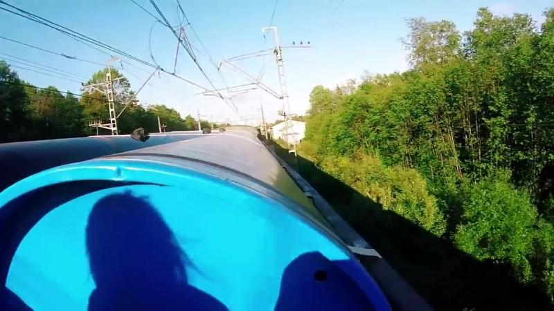 [Неустановленное Лицо] На грузовом поезде в ВОЛХОВ!