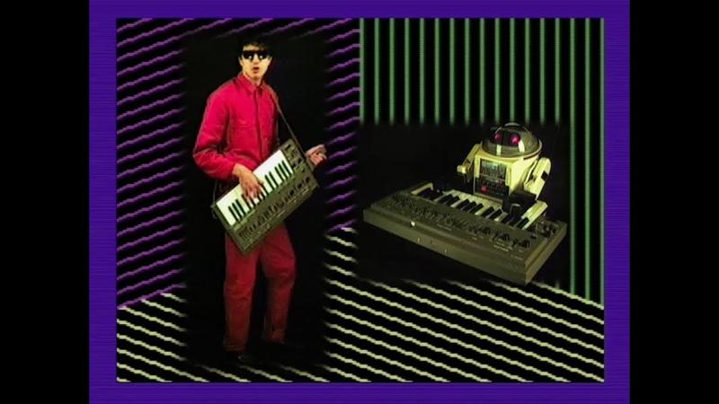 Beat Ratio - Electric Devolution (80s Retro music video) Roland SH-101 TR-808 Robot Keytar Lasers!