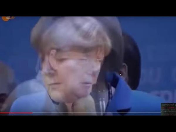 UNFASSBARE Video-Aufnahmen von Angela Merkel WARUM macht Sie das ??