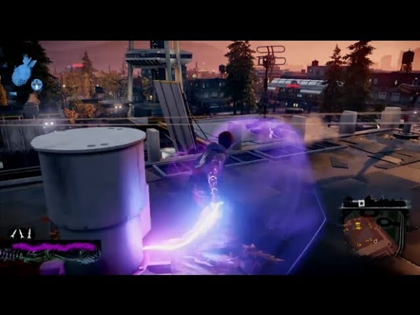 InFAMOUS: Second Son - Neon Power Gameplay Free Roam
