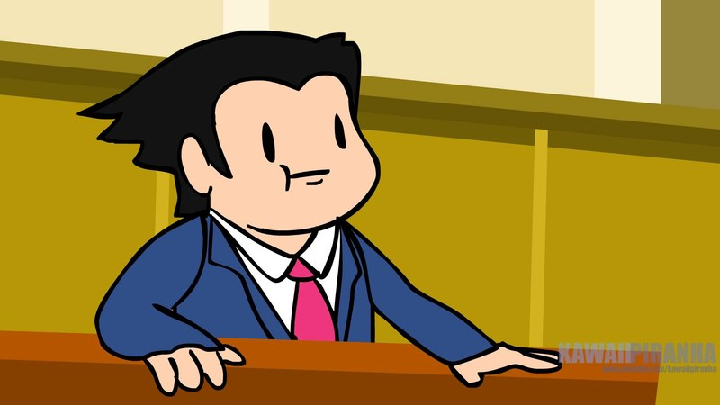 Your Average Ace Attorney Trial Ace Attorney Parody Panoots Cartoons