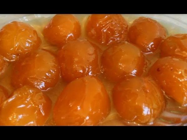 Абрикосовое варенье по Азербаджански Erik murebbesi Kayisi receli Apricot jam