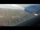 Видео падения самолета в ЮАР, которое было снято пассажиром