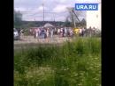Огромные очереди за питьевой водой в Североуральске