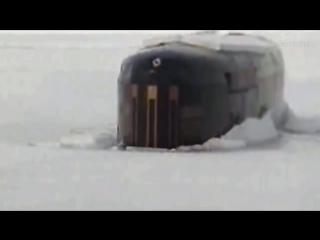 Всплытие подводной лодки - Surfacing submarine.mp4