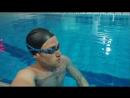 Андрей Мыцыков-известный спортсмен Приднестровья, проходит реабилитацию в бассейне после сложнейшей травмы мениска и крестообра