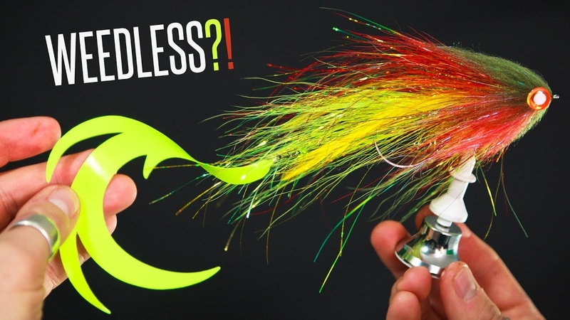 How to Tie a WEEDLESS Pike Fly?! - Tie TV - Niklaus Bauer