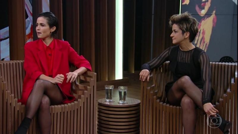 Nanda Costa e Lan Lahn - Conversa com Bial 02082018