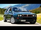 Lancia Delta HF Integrale Evoluzione - Драйверские опыты Давида Чирони