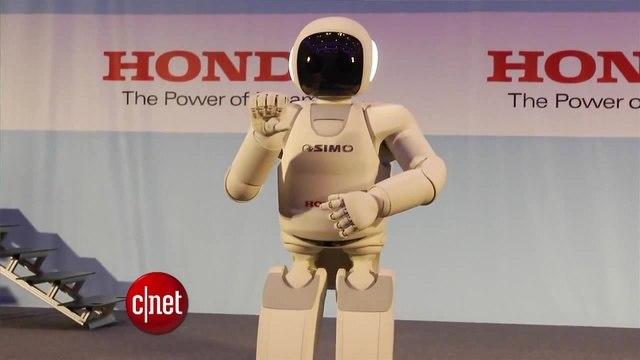 Honda's Asimo robot shows off new handjob moves   Асимо научили делать хэнджоб