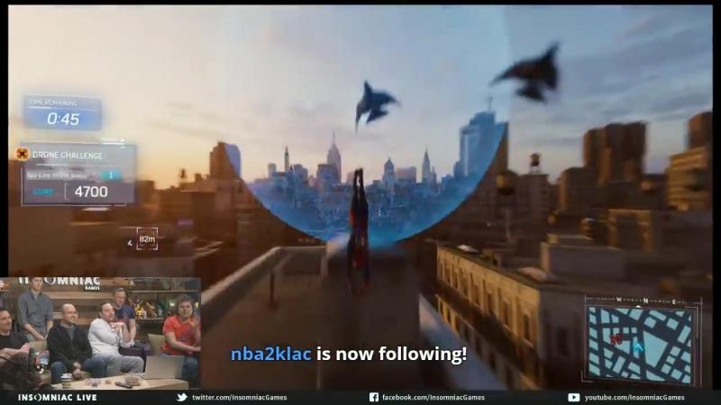 Человек-Паук(PS4) - Трансляция от Insomniac