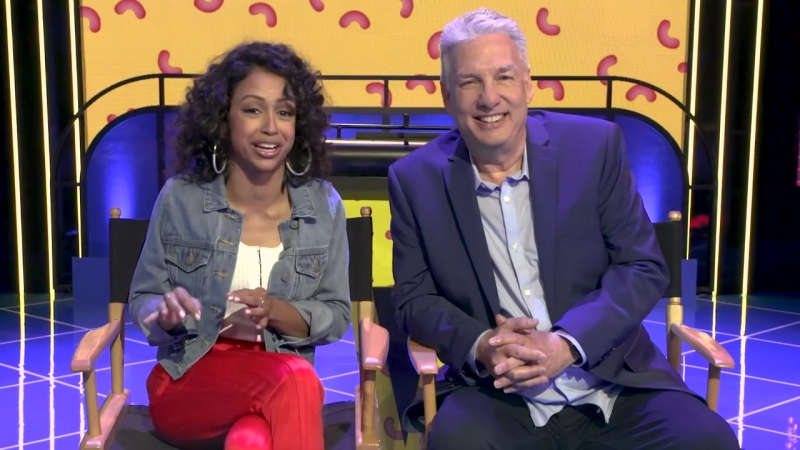 Liza Koshy Marc Summers Reveal Classic New Obstacles for the All NEW Double