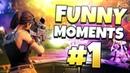 Fortnite смешные моменты (Fortnite терпит неудачу и эпические Победы) Fortnite лучшие моменты №1