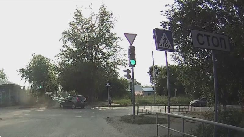 ДТП Рабиновича и Герцена, Омск 19 07 2018