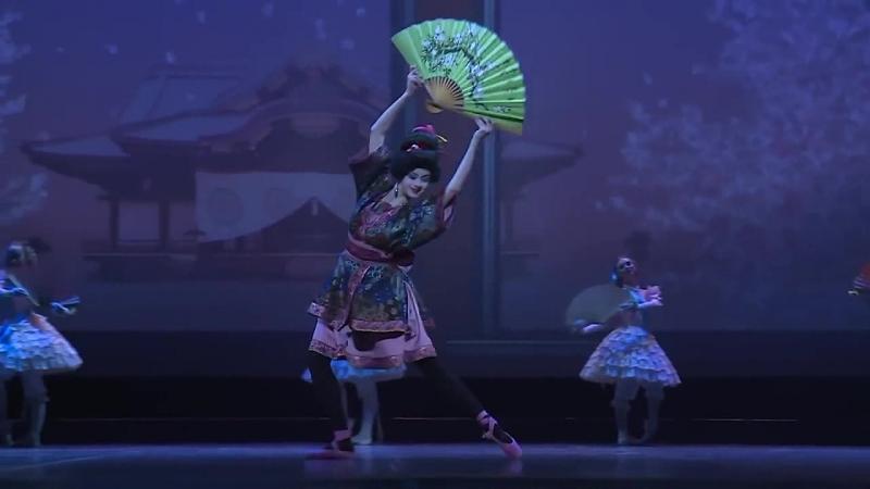 Японская кукла из балета «Фея кукол», АРБ им. А.Я.Вагановой, урокиХореографии