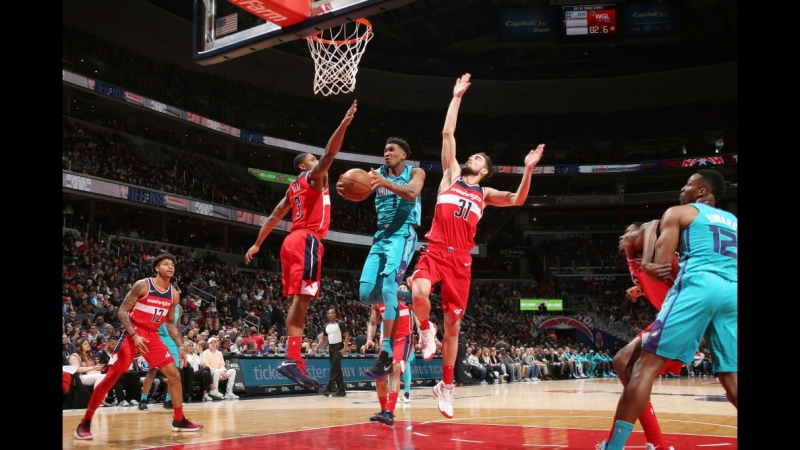 Charlotte Hornets @ Washington Wizards | 31/03/2018