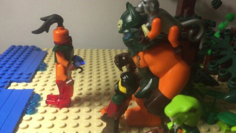 Gang Back Together - SCENE RECREATION - LEGO Ninjago Stop-Motion