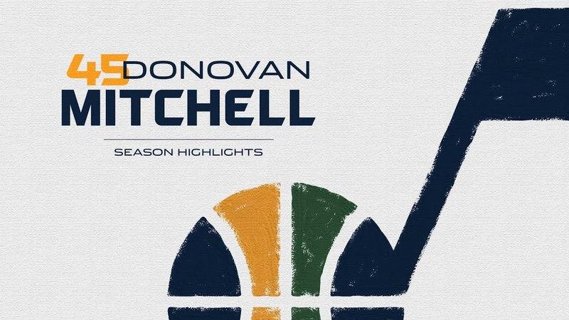 Донован Митчелл. Лучшие моменты сезона НБА 2017-18