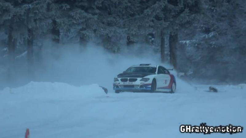 BMW 650i on ice BMW BOOMER БМВ boomerm