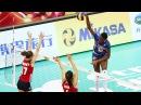 Top 10 Volleyball 3rd meter SPIKE | Women's Volleyball