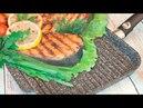Обзор тест сковороды гриль VARI PIETRA Жарим мясные стейки рыбу и овощи на сковороде гриль