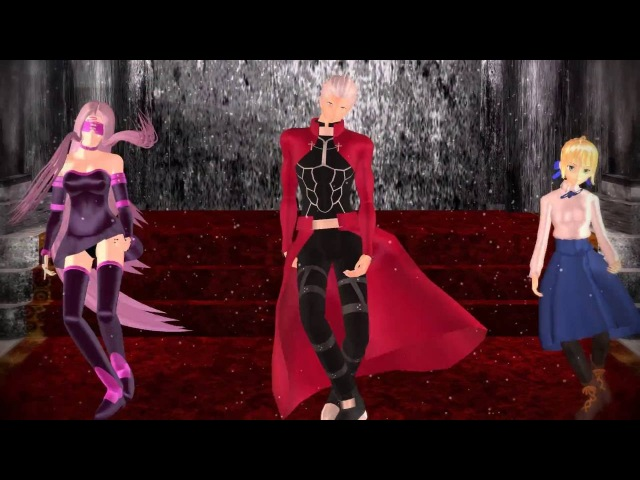 MMD Temperature {Rider, Acher, Saber} Fate Stay Night [ANIME]