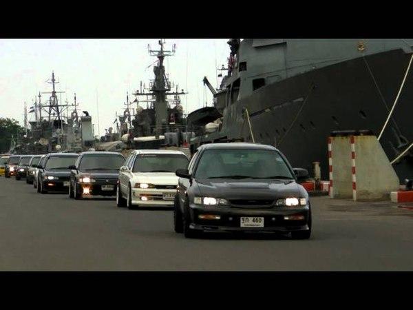Honda Accord 1990-93 Thailand club meeting on 11 Mar 2012 @ Sattaheep Navy