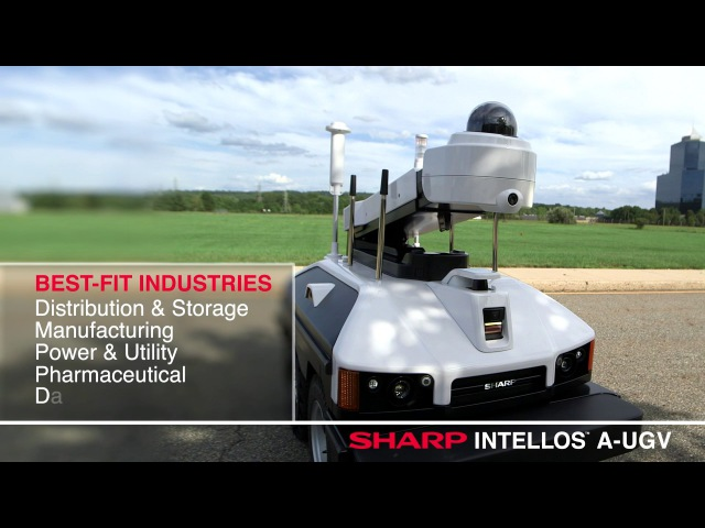 Sharp INTELLOS™ A UGV Automated Unmanned Ground Vehicle Demo