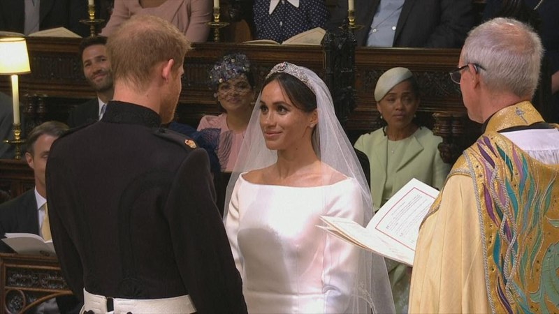 Royal Wedding: Watch Prince Harry and Meghan Markle Exchange Vows
