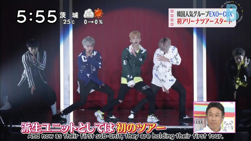 [VIDEO] 180512 EXO-CBX @ Zoom In!! Saturday | ENG SUB