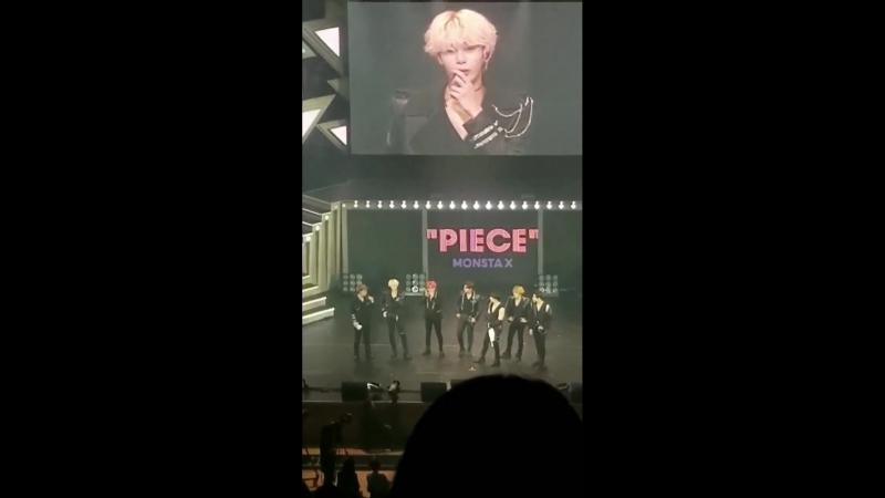 [VK][180518] MONSTA X fancam Talk Time @ 1st Japan Tour 'PIECE' in Tokyo D-2