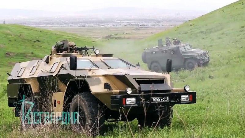 Отряд специального назначения СКИФ СКО Росгвардии