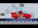 Мультик про машинки Тачки молния Маквин тюнинг конструктор Развивающие мультики для мальчиков