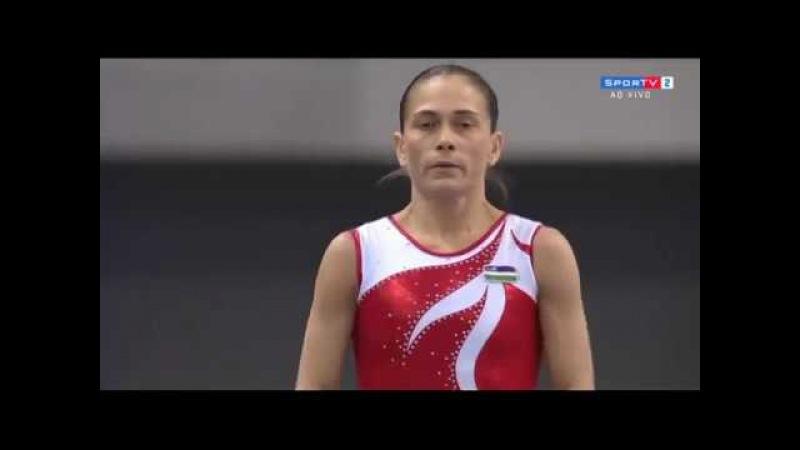 Oksana Chusovitina VT- 2018 Doha World Cup (1st)